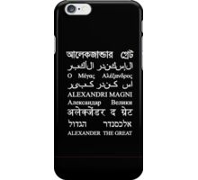 Alexander the Great iPhone Case/Skin