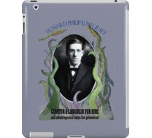 Lovecraft for Hire iPad Case/Skin