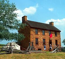 Stone House Sesquicentennial  by Cecilia Carr