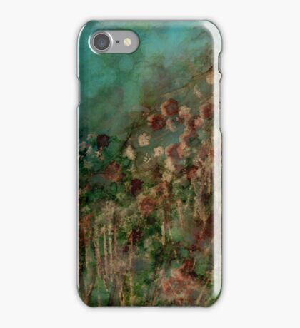 Hillside Flowers iPhone Case/Skin
