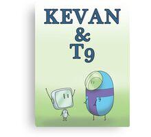 KEVAN & T9 Canvas Print