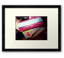 Unsent Letters Framed Print