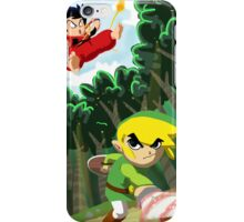 Link vs Goku iPhone Case/Skin