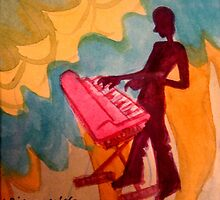 keyboard player by purplestgirl