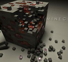 Redstone Ore - Minecraft by creeper128