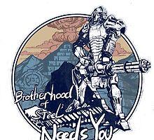 fallout 4 brotherhood by EvilMonkey793
