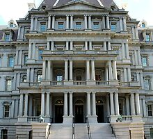 Eisenhower Executive Office Building by Kelly Morris