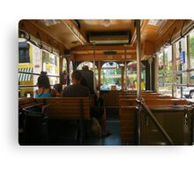 FREE TROLLEY!!! Canvas Print