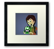 Ellie (The Last of Us) & Fungus Framed Print