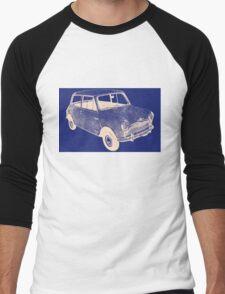 morris mini saloon Men's Baseball ¾ T-Shirt