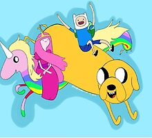 Adventure Time by LisaMichelleArt