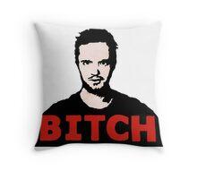 Jesse Pinkman Bitch Throw Pillow