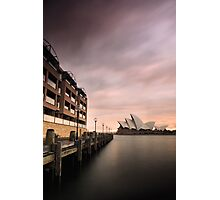 Hyatt and the House Photographic Print
