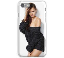 Nina Dobrev Elena Gilbert iPhone Case/Skin