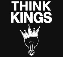 Think Kings standard tee invert by geniuscondition