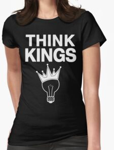 Think Kings standard tee invert Womens Fitted T-Shirt
