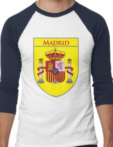 Madrid Shield of Spain II  Men's Baseball ¾ T-Shirt