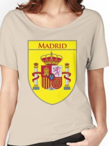 Madrid Shield of Spain II  Women's Relaxed Fit T-Shirt