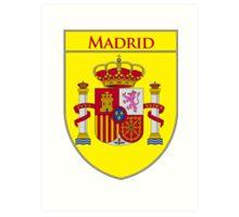 Madrid Shield of Spain II  Art Print