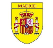 Madrid Shield of Spain II  Photographic Print