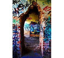 Graffiti Door Photographic Print