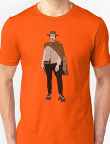 Clint Eastwood hits the roller rink  T-Shirt