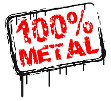 100% metal stamp graffiti by Style-O-Mat