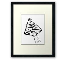 City Pyramid Framed Print