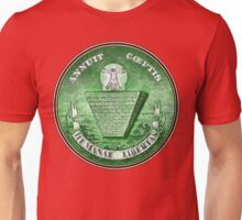 Human Liberation The great seal Inverted - aged retro T- Shirt Unisex T-Shirt
