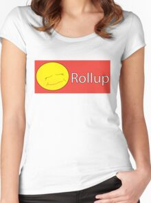 Rollup Women's Fitted Scoop T-Shirt