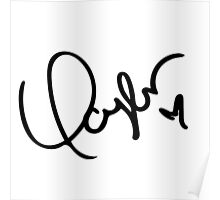 taylors signature Poster