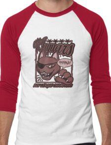 M.F Jaguars Red Men's Baseball ¾ T-Shirt