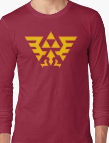 Hyrule Crest Long Sleeve T-Shirt