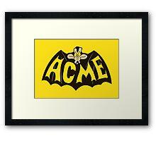Nolan ACME Framed Print