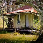 The old house is still standing, tho' the paint is cracked and dry by myraj