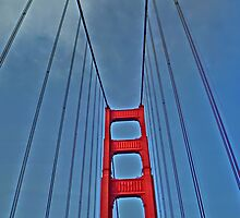 Golden Gate Bridge San Francisco artistic print by artisticattitud