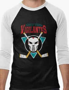 Go Vigilantes! Men's Baseball ¾ T-Shirt