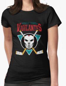 Go Vigilantes! Womens Fitted T-Shirt