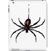 Artistic black widow spider ipad case iPad Case/Skin