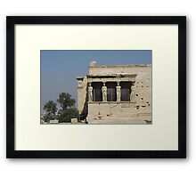The Porch Of The Caryatids Framed Print