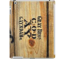 Gray Bros Gayndah iPad Case/Skin