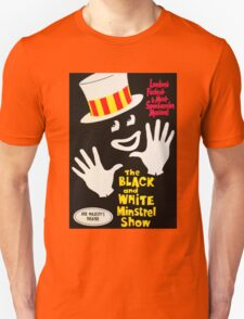 Black and White Minstrel show Unisex T-Shirt