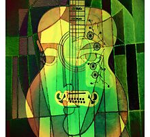 5161 Guitar with Face by AnkhaDesh