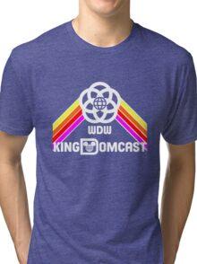 Kingdomcast Future World logo Tri-blend T-Shirt