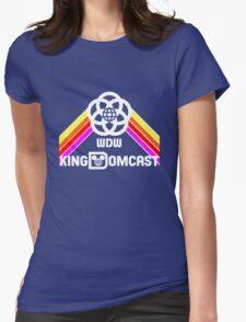 Kingdomcast Future World Logo Womens Fitted T-Shirt