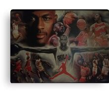 Air Jordan wings  Canvas Print