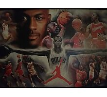 Air Jordan wings  Photographic Print