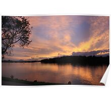 Sunset over Chinderah .. Poster