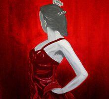 The Heat of Flamenco by artbyengels