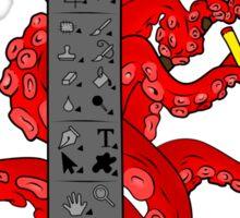 Octopus CS Sticker